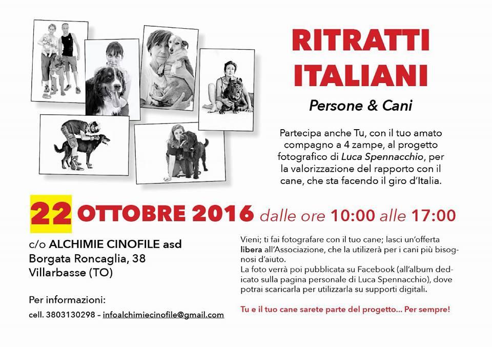 Ritratti italiani-Persone e cani di Luca Spennacchio